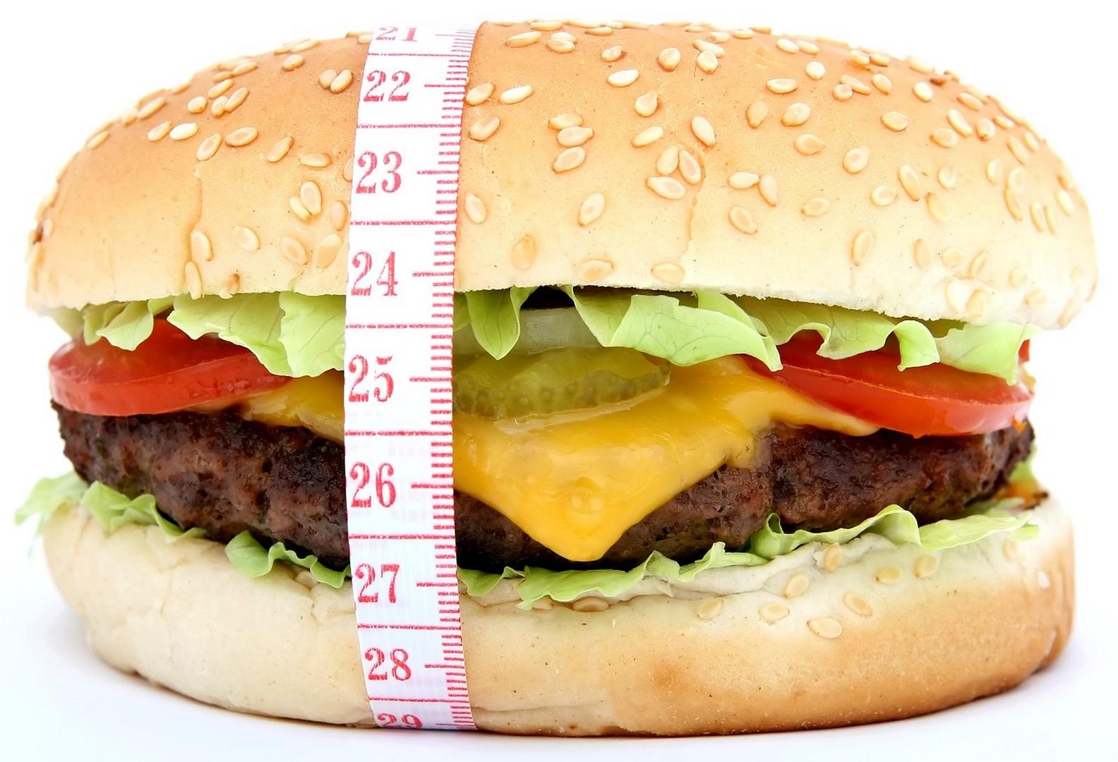 hamburger mètre ruban