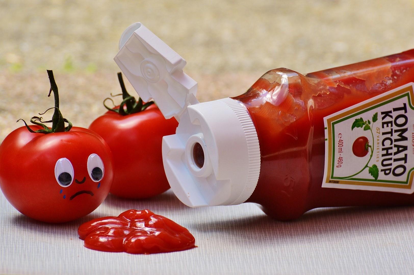 tomates ketchup